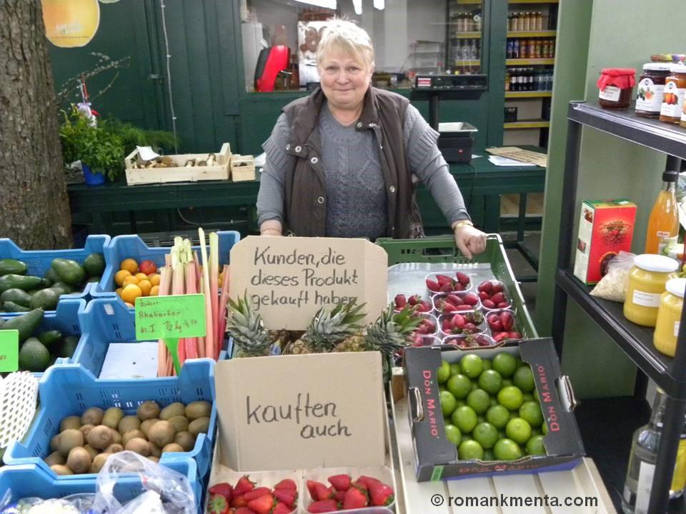 Obstverkäuferin
