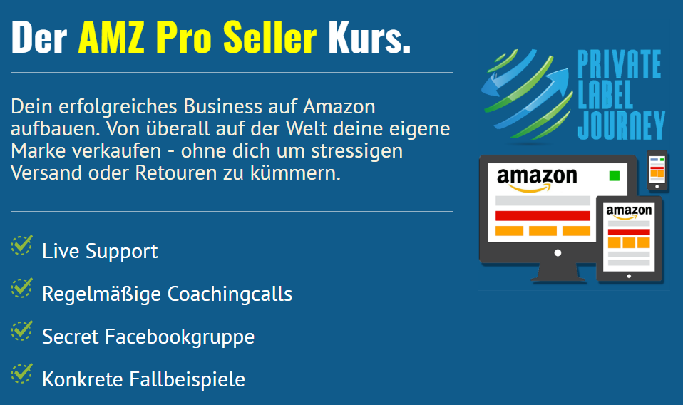 amazon fba - Pro Seller Kurs