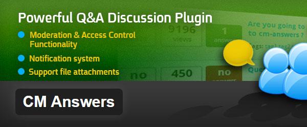 CM Answers WordPress Plugin