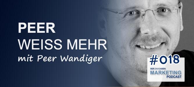 DAM 018: Peer weiß mehr – mit Peer Wandiger