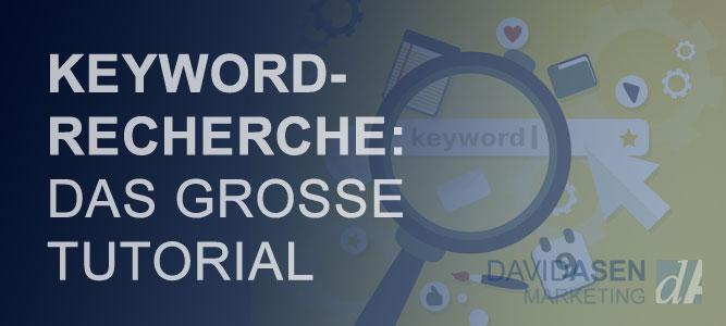 Keyword Recherche Tutorial